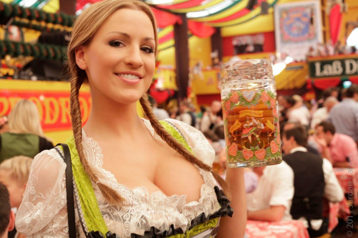 Hot Oktoberfest Girl | The Art Mad