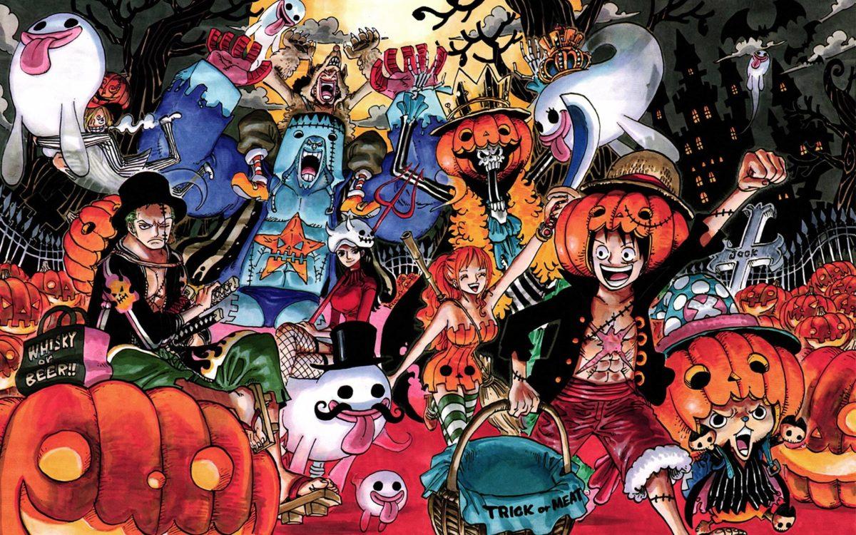 One Piece Halloween Wallpaper #