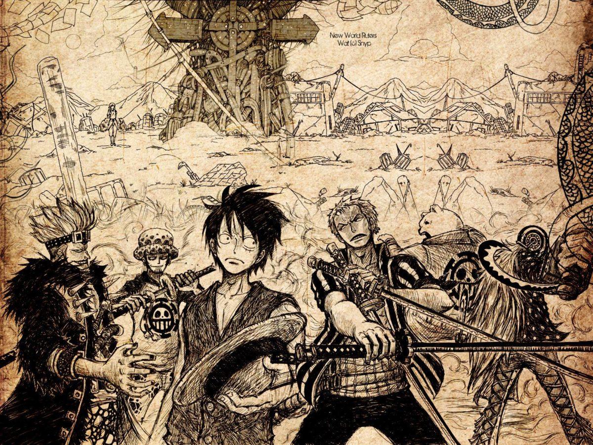 One Piece Wallpaper 1600×1200