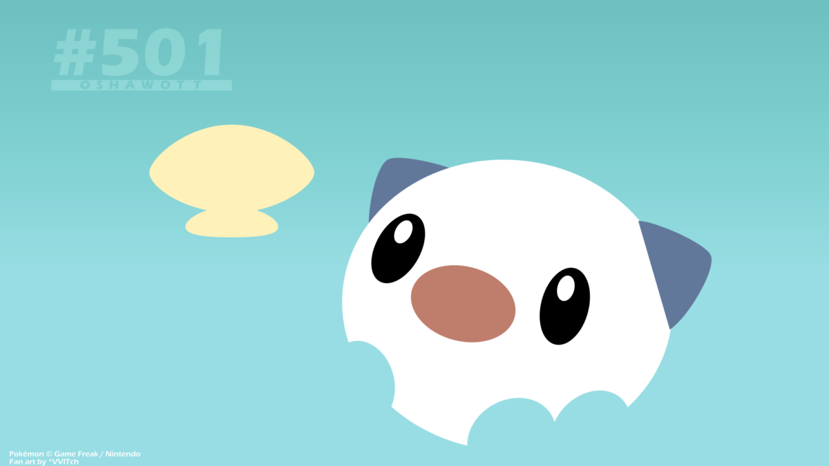 Download Oshawott Pokemon Wallpaper (208120) Full Size | DesktopAS.com