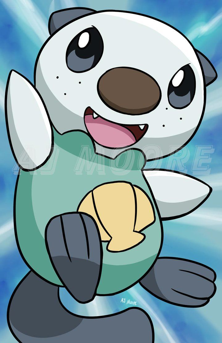 Oshawott – Pokemon-by AJ Moore by GudFit on DeviantArt