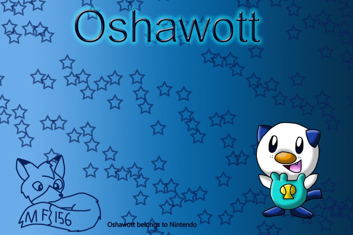 Oshawott Wallpaper by MangaFox156 on DeviantArt