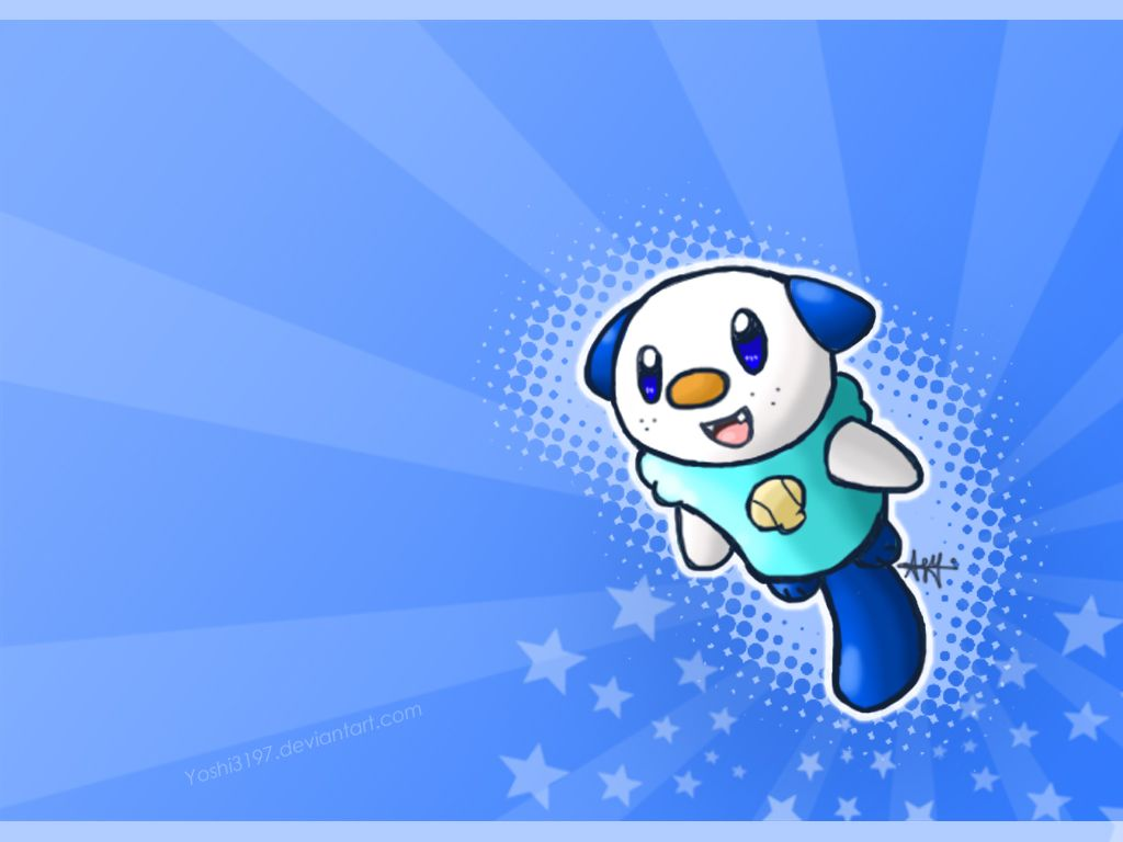 Oshawott Wallpaper by yoshi3197 on DeviantArt