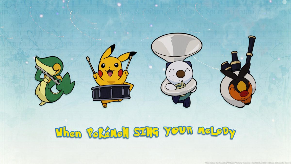 WHEN POKEMON SING YOUR MELODY WALLPAPER – (#94281) – HD Wallpapers …
