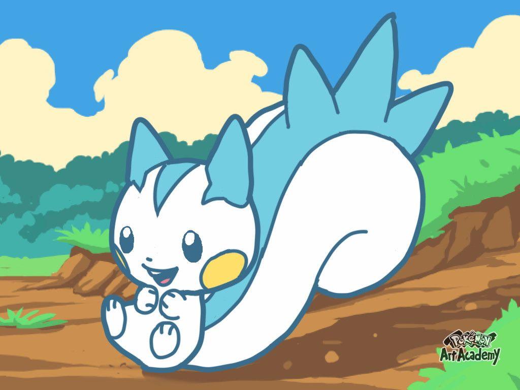 Pokemon Art Academy Novice Course 3: Pachirisu by PkGam on DeviantArt