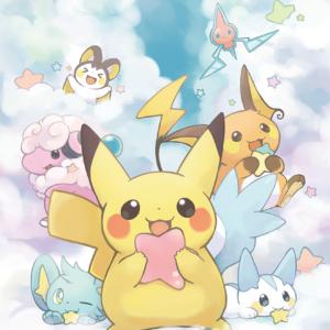 download Pokémon, Pikachu, Shinx, Pachirisu, Raichu, Flaaffy, Rotom, Emolga …