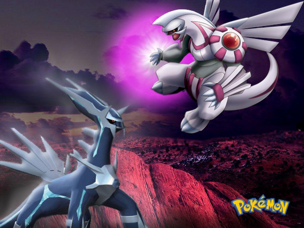 Wallpapers Pokemon Images Dialga Vs Palkia Darkrai Black White …