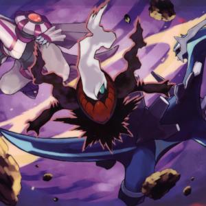 download Image – Darkrai attacking Dialga and Palkia.png | Pokémon Wiki …