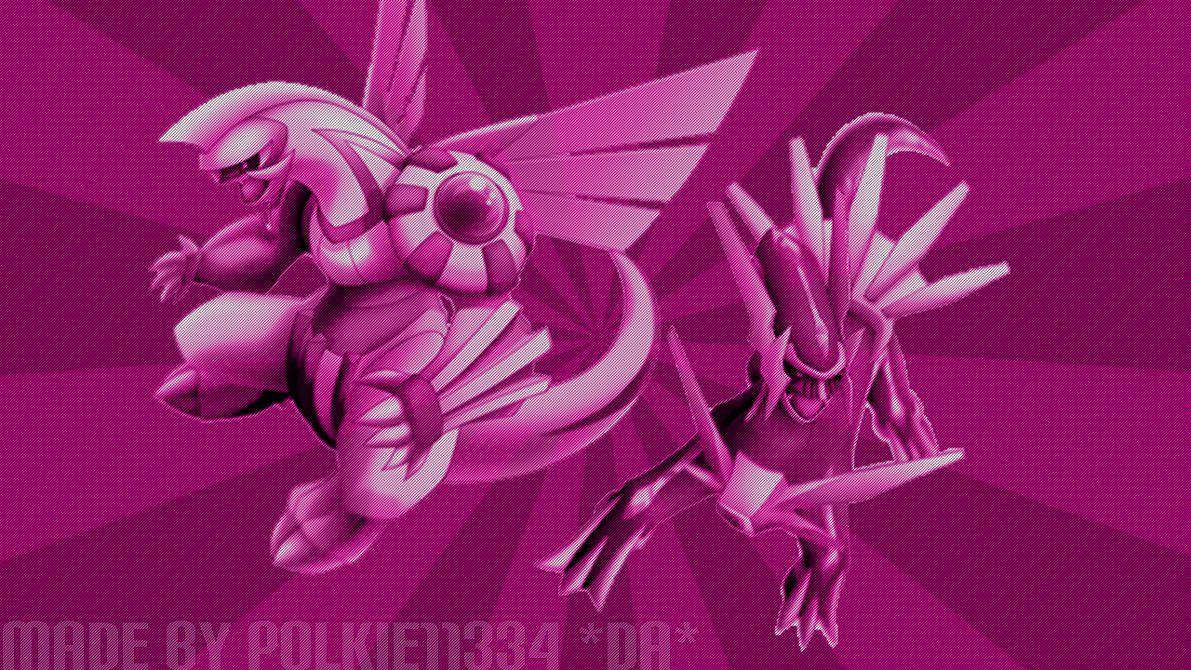Pokemon Diamond.Pearl Dialga.Palkia Wallpaper! by Polkie11334 on …