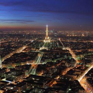 download 1600×1200 Paris night lights desktop PC and Mac wallpaper