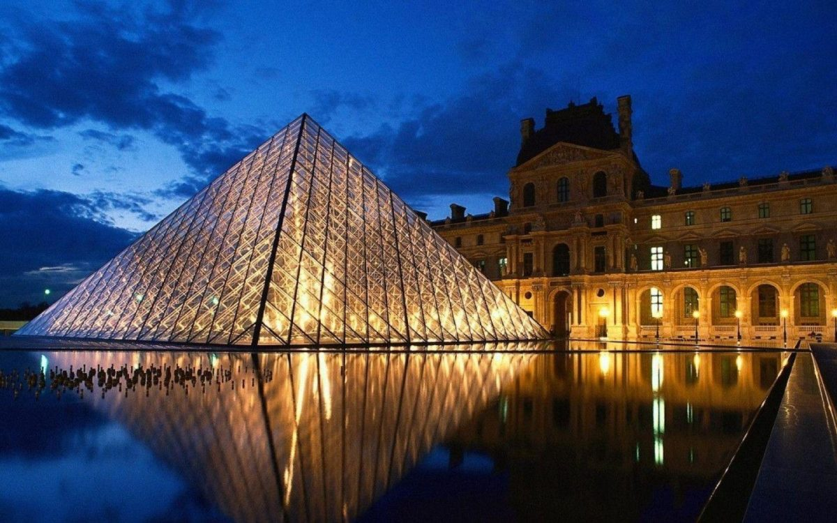 1440×900 Louvre Paris desktop PC and Mac wallpaper