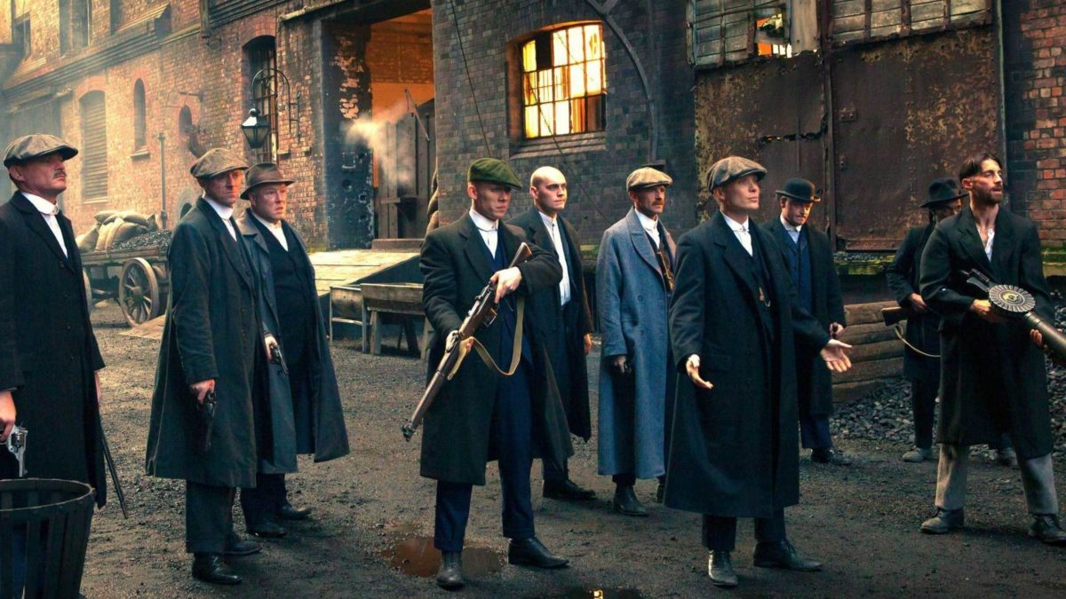 Download Wallpaper weapons, the series, gang, BBC, Peaky blinders …