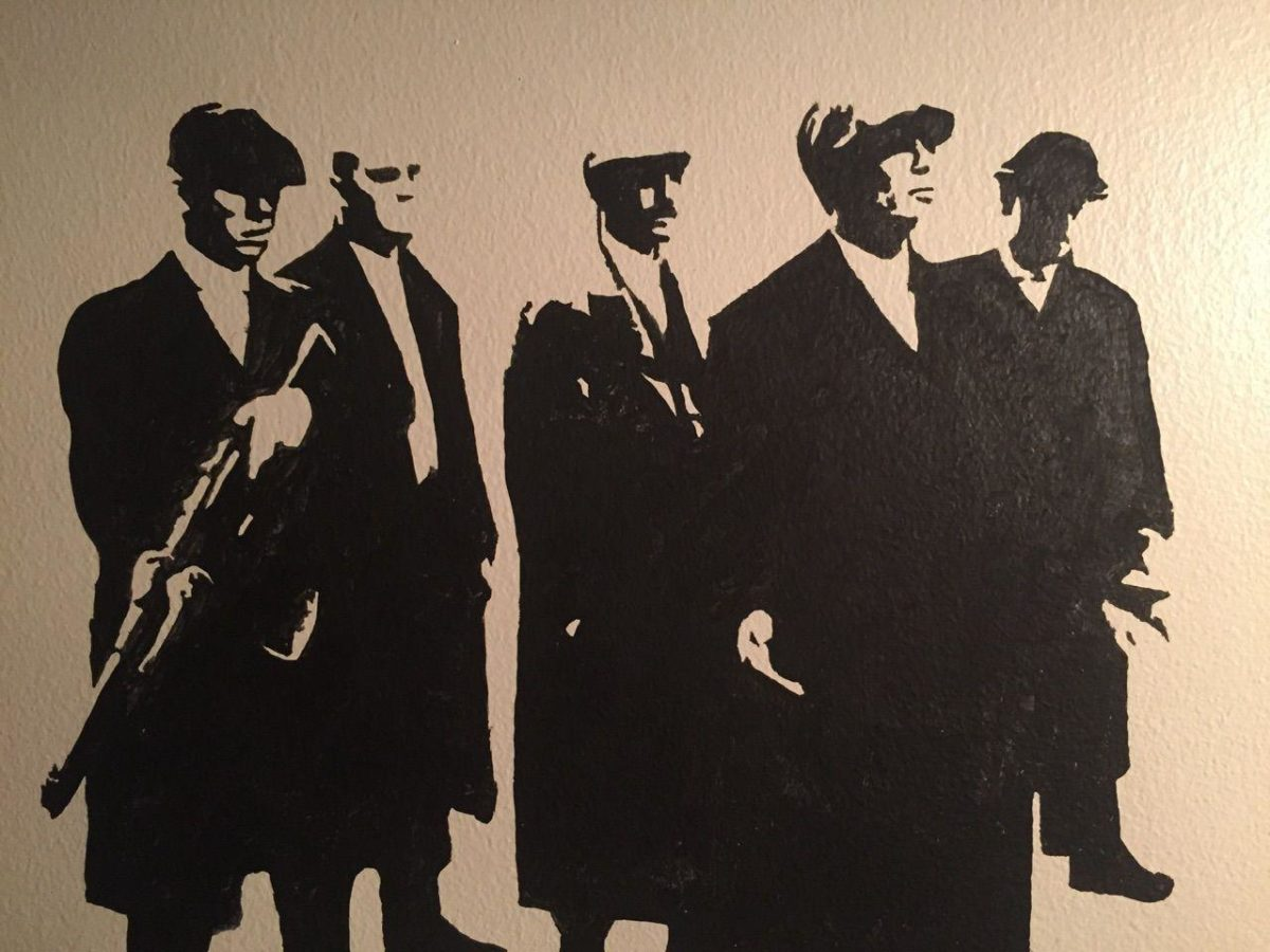 Peaky Blinders projector wall art I made! – Album on Imgur