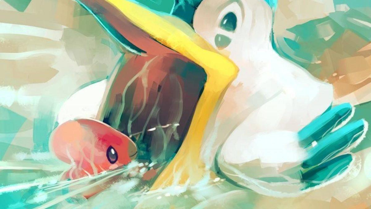 Fish digital art artwork ludvisc pelipper sea wallpaper | (102906)