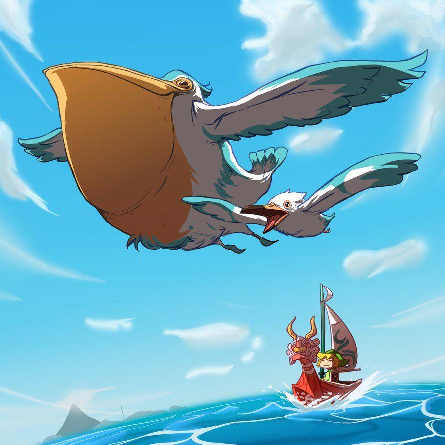 Wingull – Pelipper | Great Sea by MrRedButcher on DeviantArt