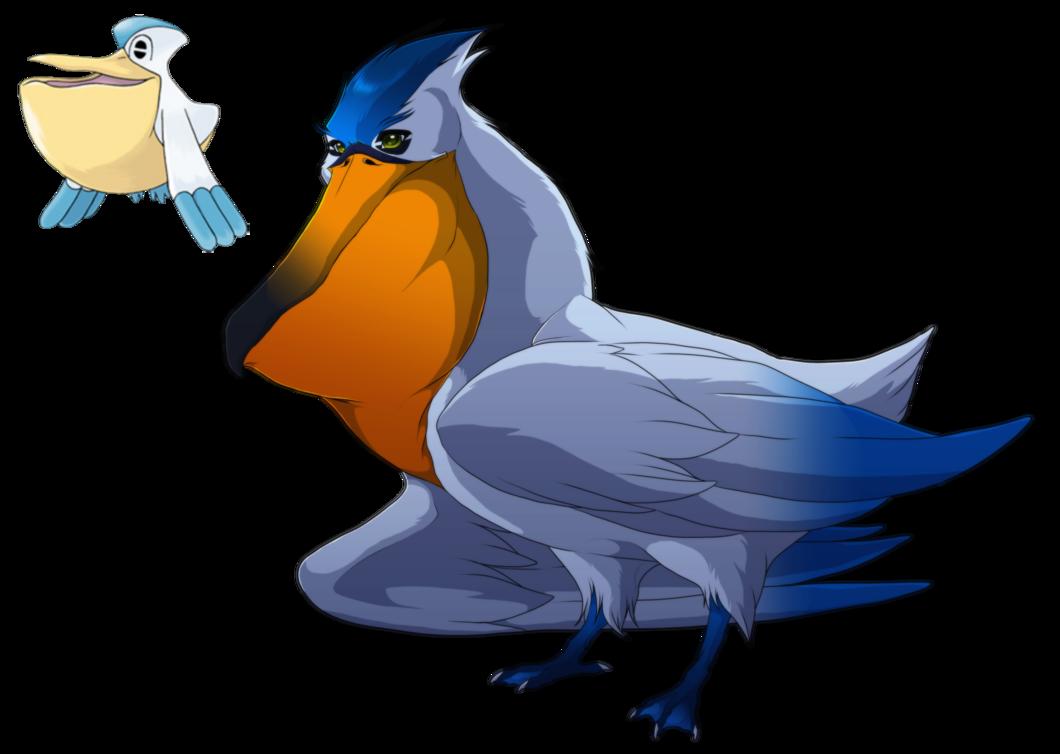 Pelipper- The most annoying bird in Hoenn by blueharuka on DeviantArt