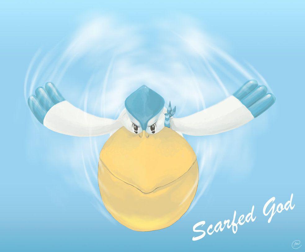 Scarfed god, Pelipper by MaNuEli on DeviantArt