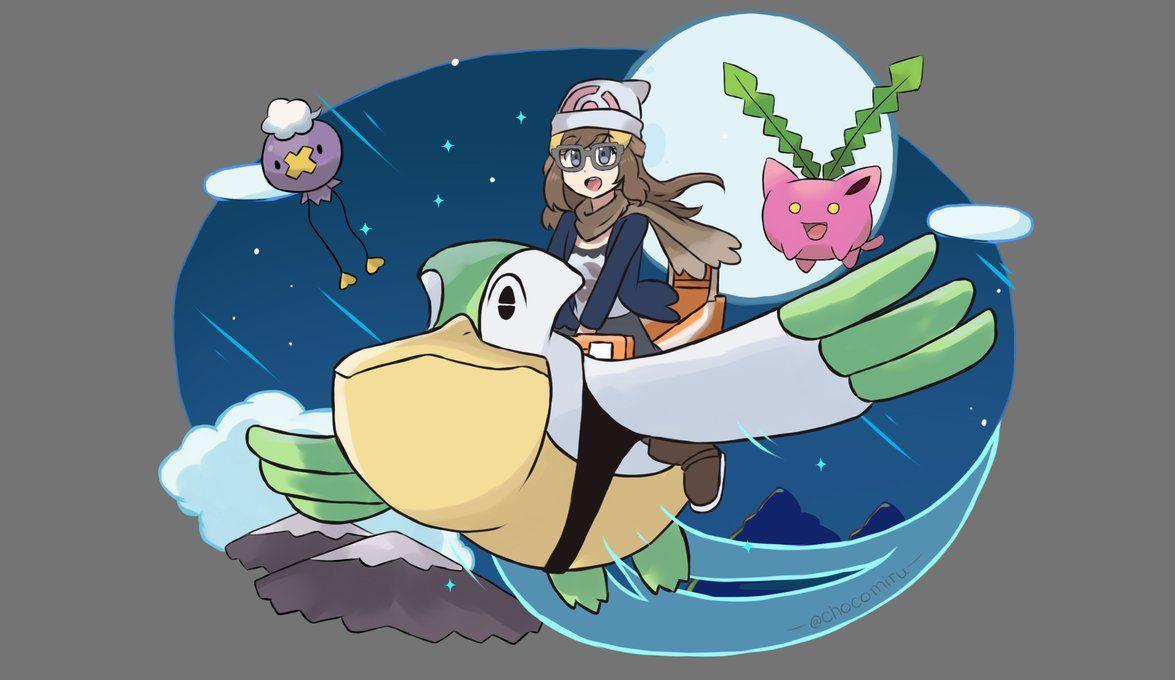 Pokemon Diamond Pearl Remake – Shiny Pelipper Ride by chocomiru02 on …