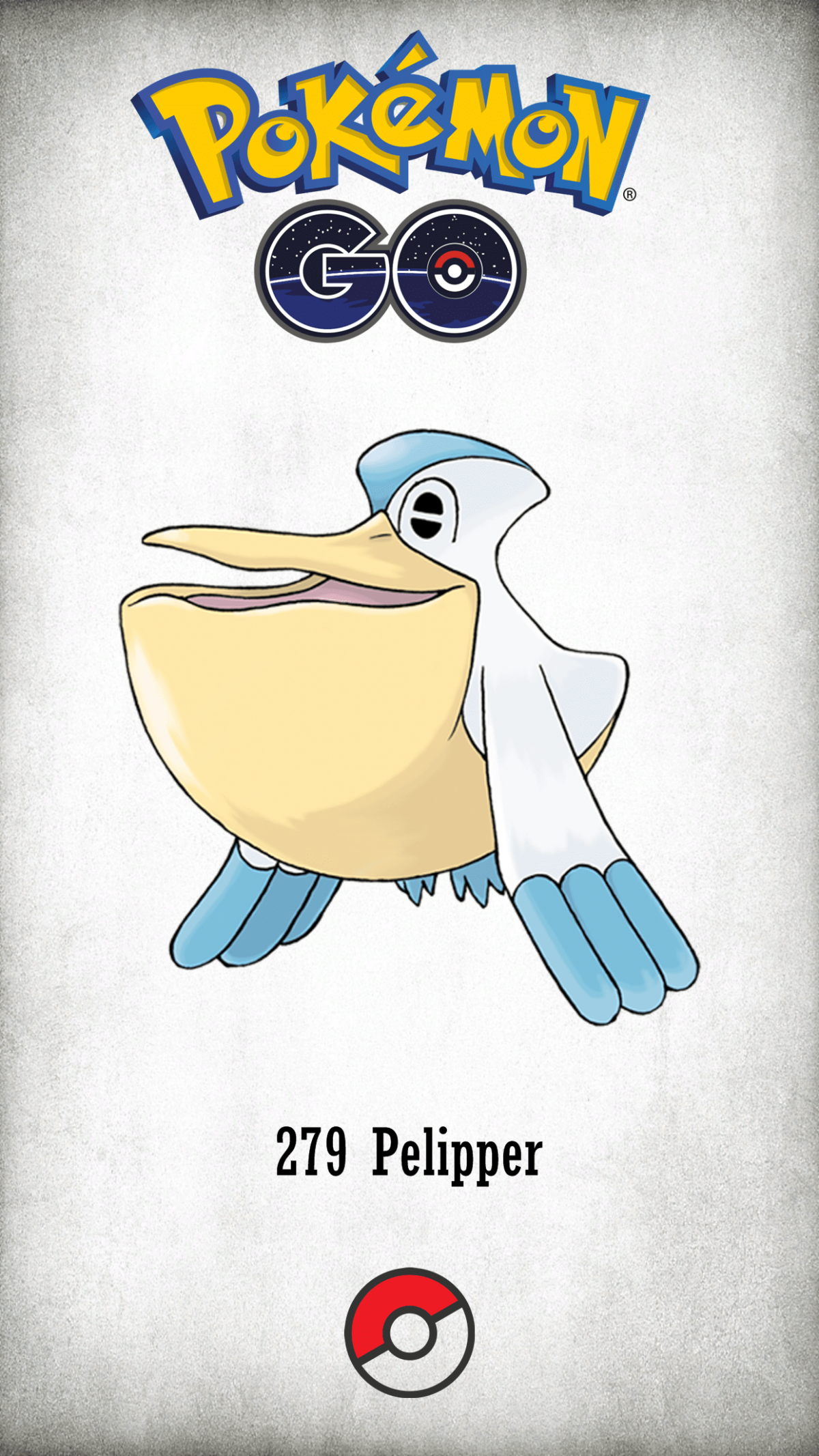 279 Character Pelipper | Wallpaper