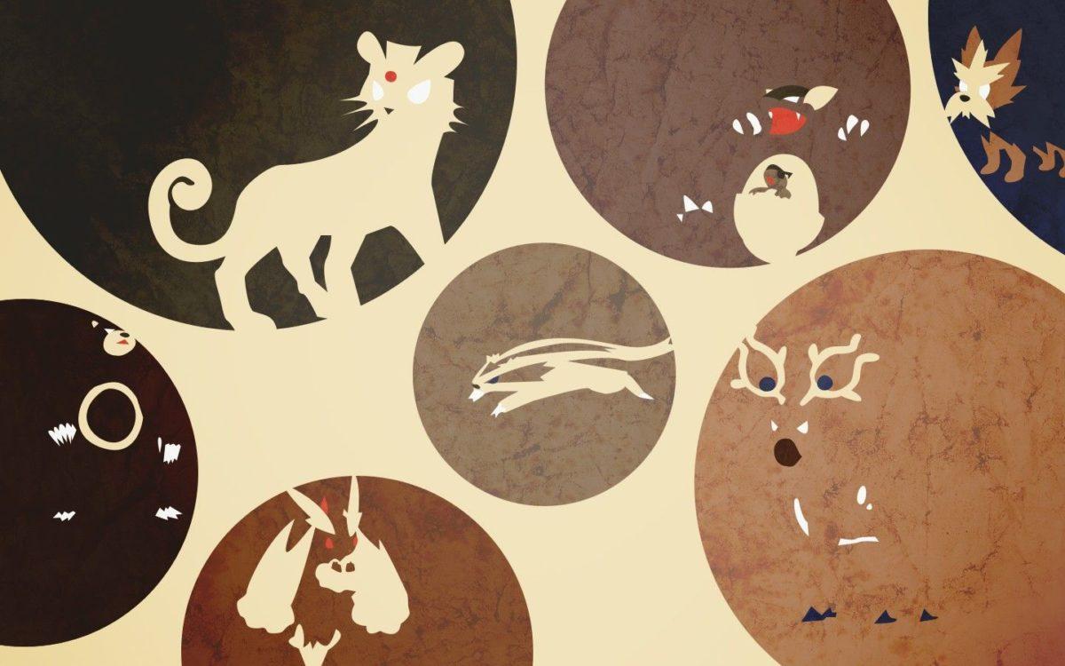 Pokemon Persian Kangaskhan wallpaper | 1440×900 | 118546 | WallpaperUP