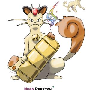 download Mega Persian by LeafyHeart on DeviantArt