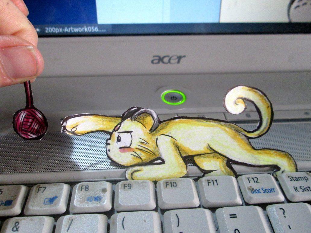 Paperchild 116. Pokemon#53 – Persian by FuriarossaAndMimma on …