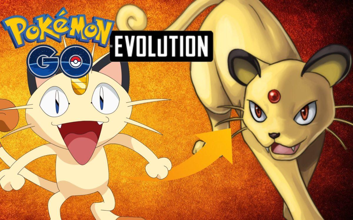 Pokemon Go – Meowth Evolution To Persian – YouTube