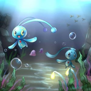 download Manaphy and Phione by LunarThunderStorm on DeviantArt