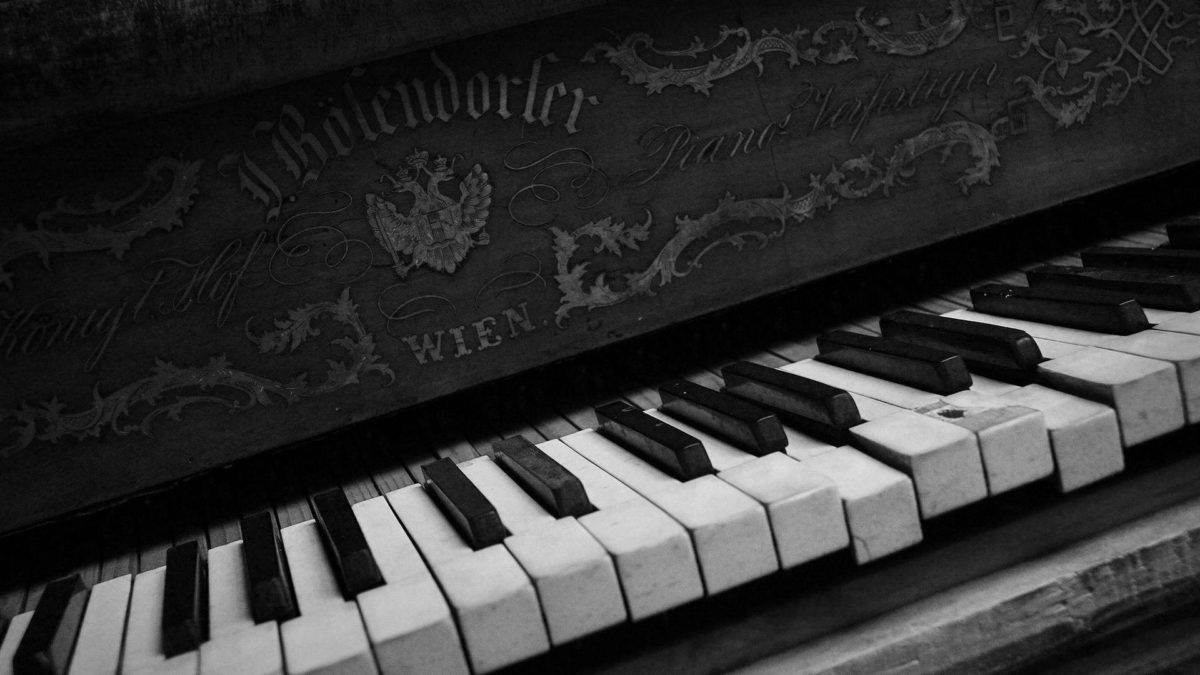 Black And White Sacred Piano Wallpaper Picture #4800 Wallpaper …