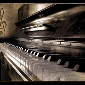download Wallpapers For > Vintage Piano Wallpaper