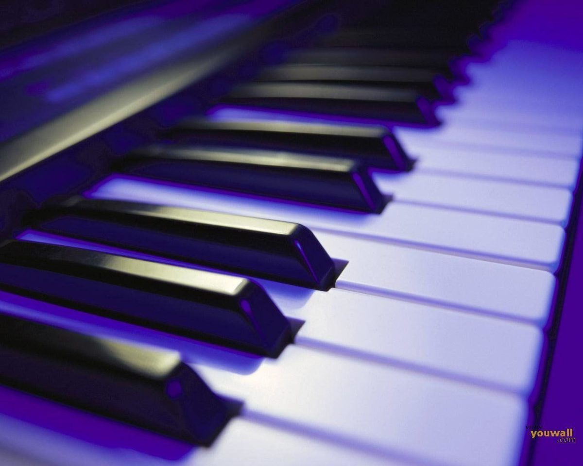 Wallpapers For > Cool Piano Wallpaper