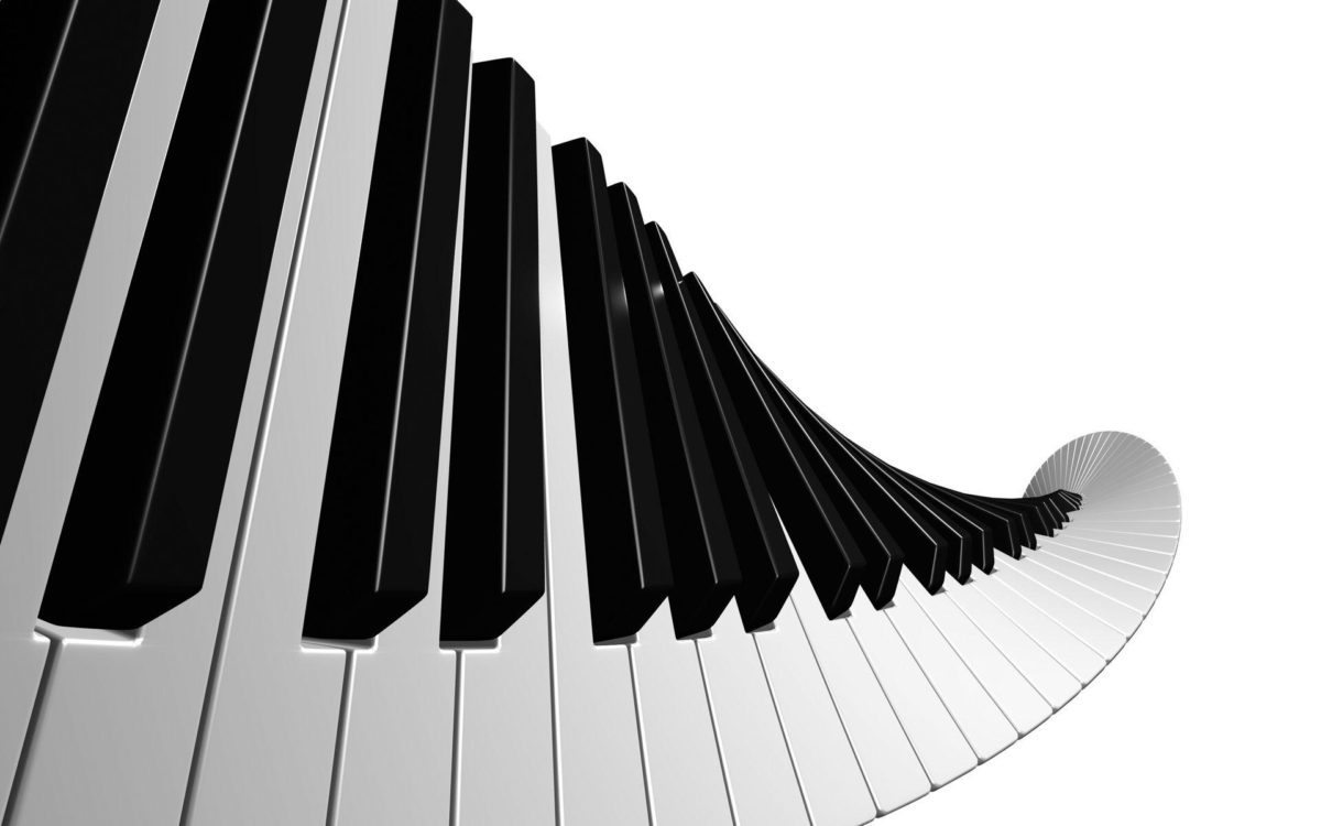 abstract art music piano wallpaper border | vergapipe.