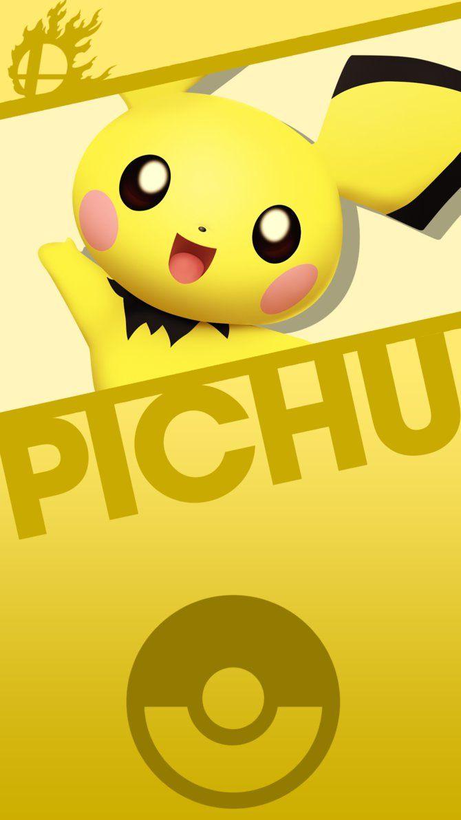 Pichu Smash Phone Wallpaper by MrThatKidAlex24 on DeviantArt