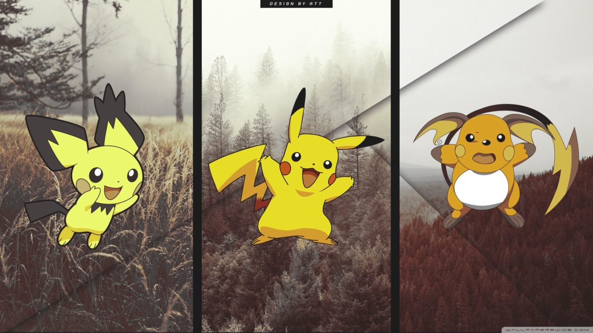 Pokemon Pikachu ❤ 4K HD Desktop Wallpaper for 4K Ultra HD TV …