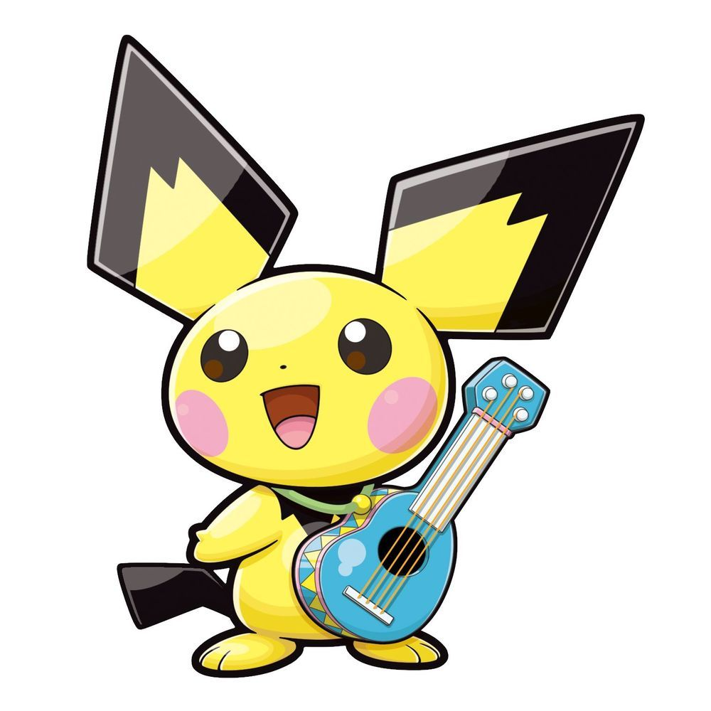 Pokemon ranger: Guardian signs images Ukulele Pichu HD wallpaper …