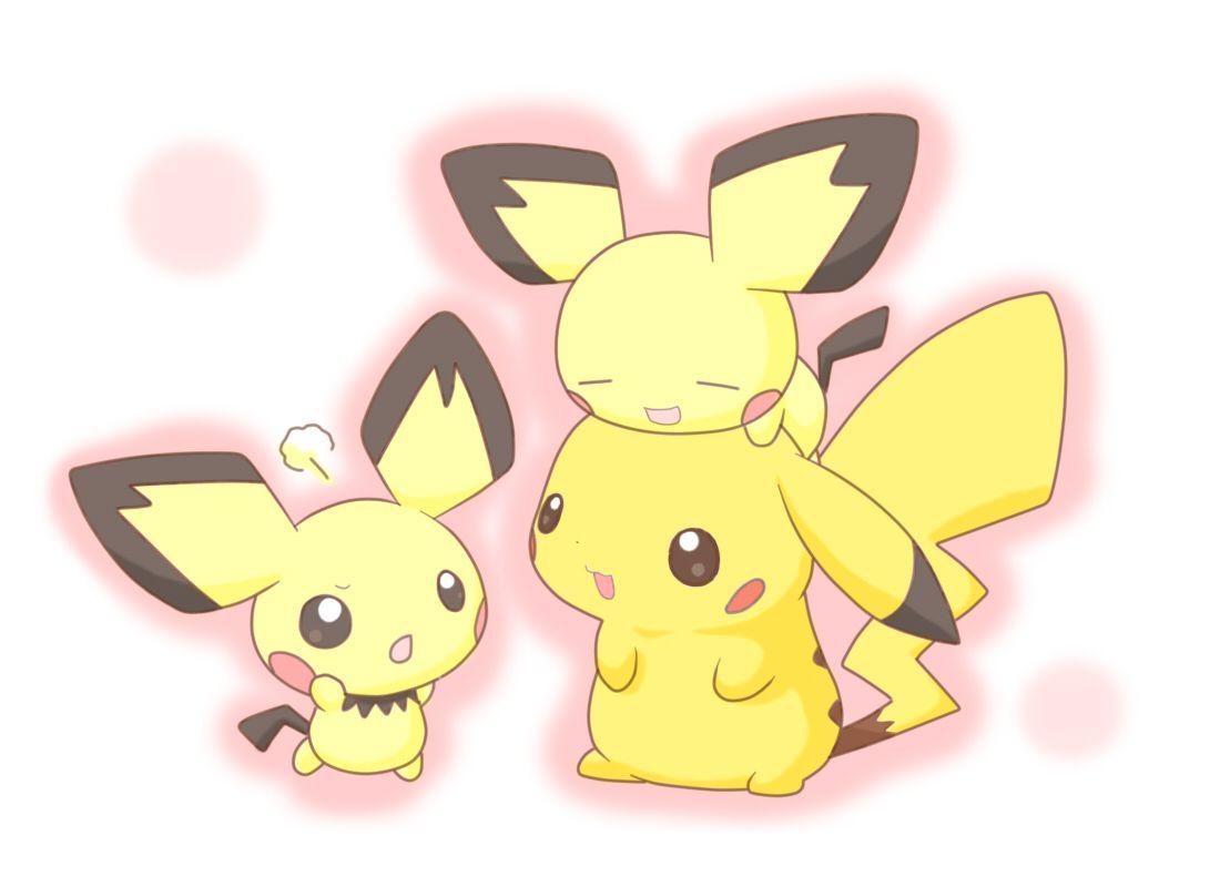 Cute Pichu Pikachu Pokemon Wallpaper Wallpaper | Pokemon …