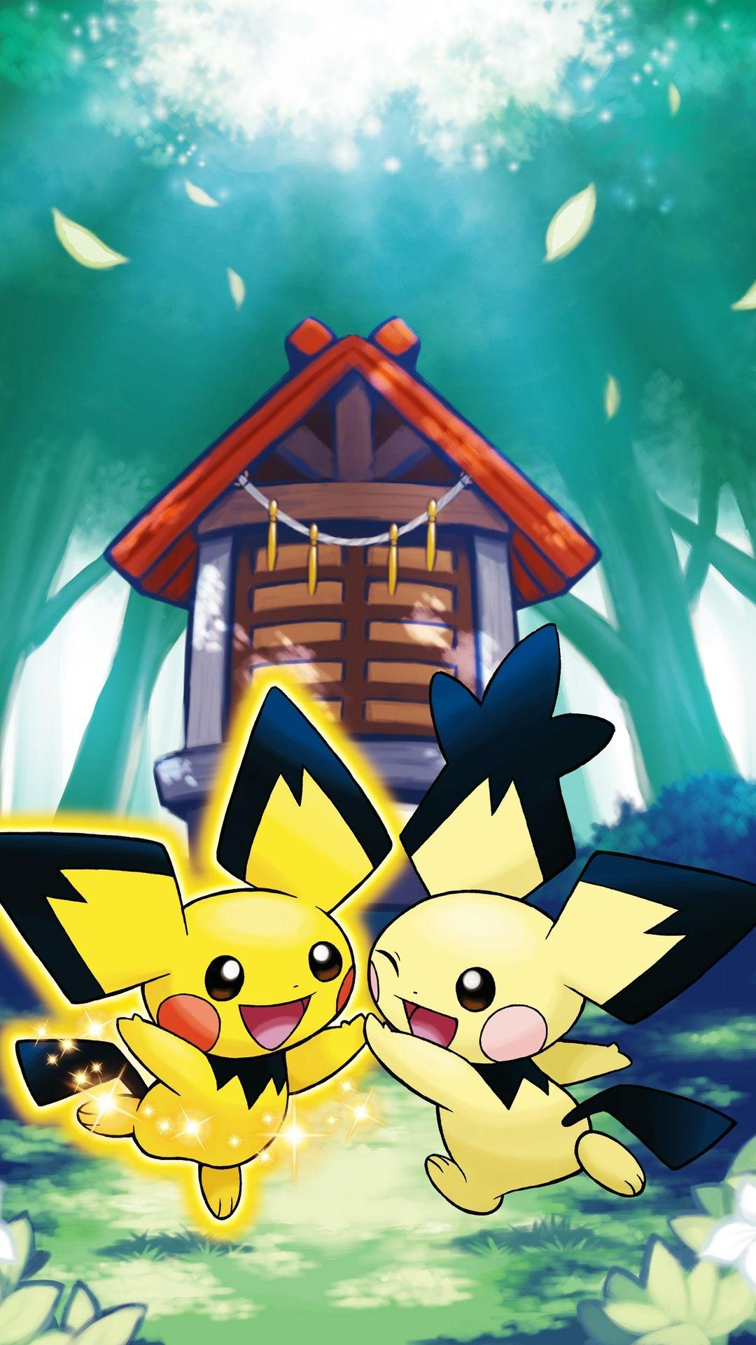 Pokemon Pichu Galaxy S4 Wallpaper (1080×1920)