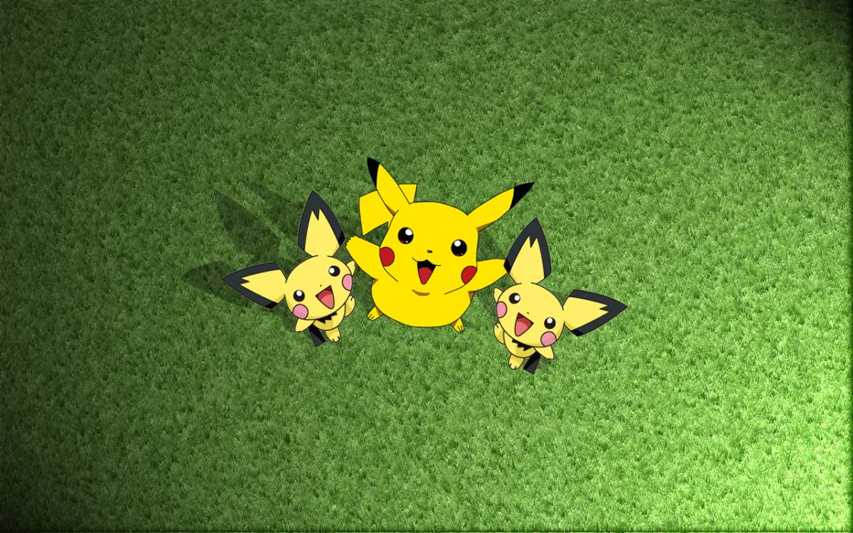 Pikachu and the Pichu Bros by SamuraiEX on DeviantArt