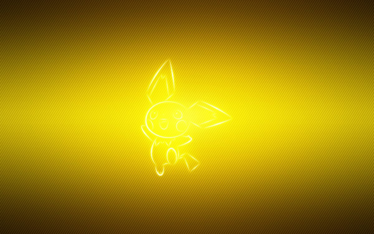 Download Wallpaper 3840×2400 Pokemon, Yellow, Pichu Ultra HD 4K HD …