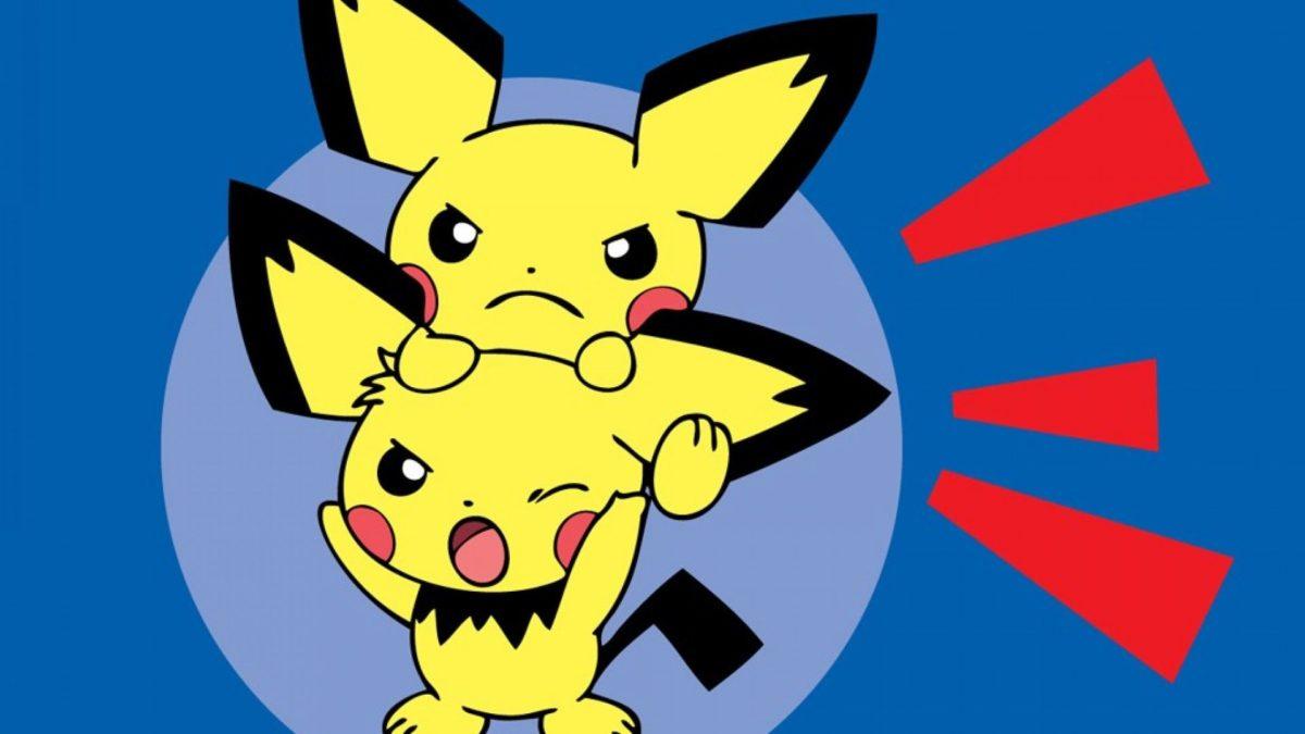 ScreenHeaven: Pichu Pokemon desktop and mobile background