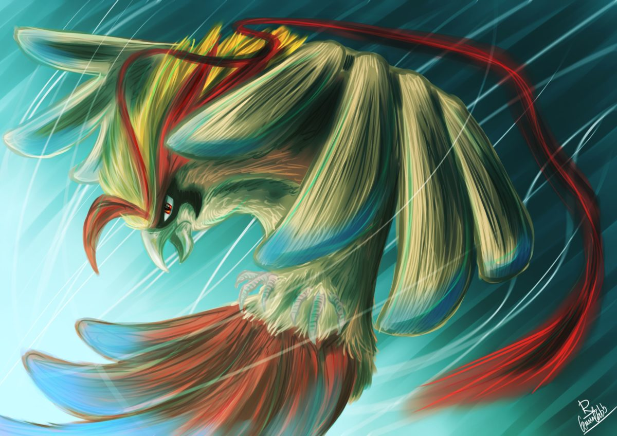 Mega Pidgeot by Rufinator on DeviantArt