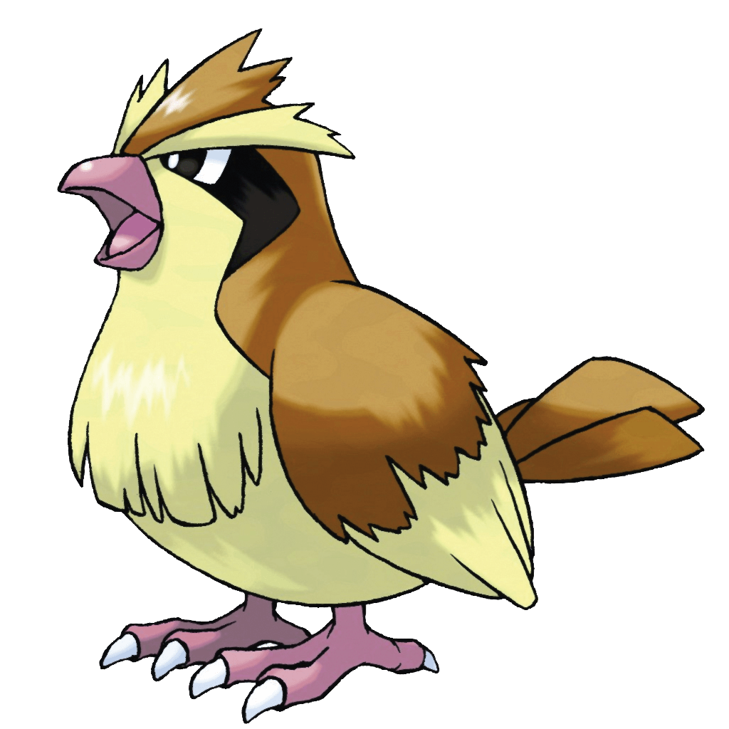 Pidgey – 016 – A common sight in forests and woods. It flaps its …