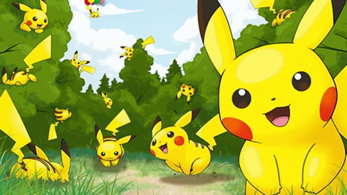 Awesome Pokemon Pikachu Hd Image Wallpaper Backgrounds For Laptop …