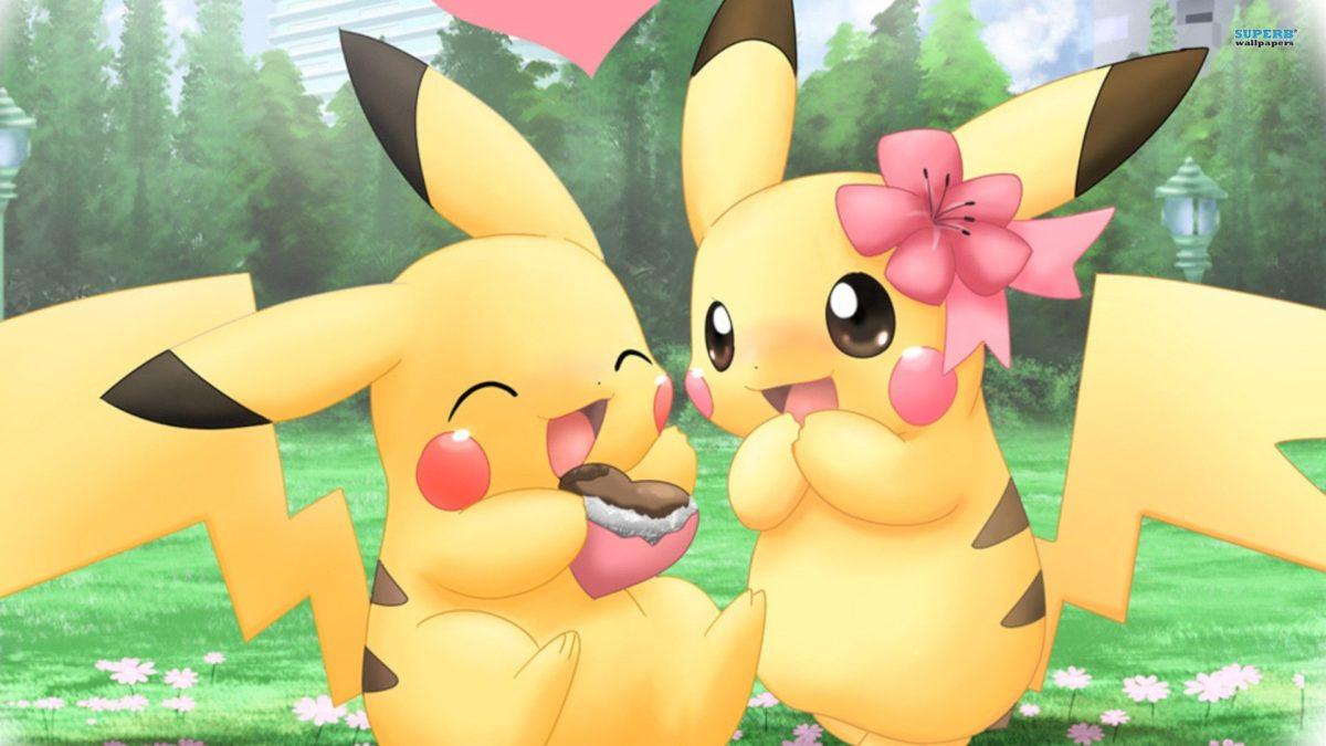 Pikachu Cartoon Cute 1080p Wallpaper | WallpaperLepi