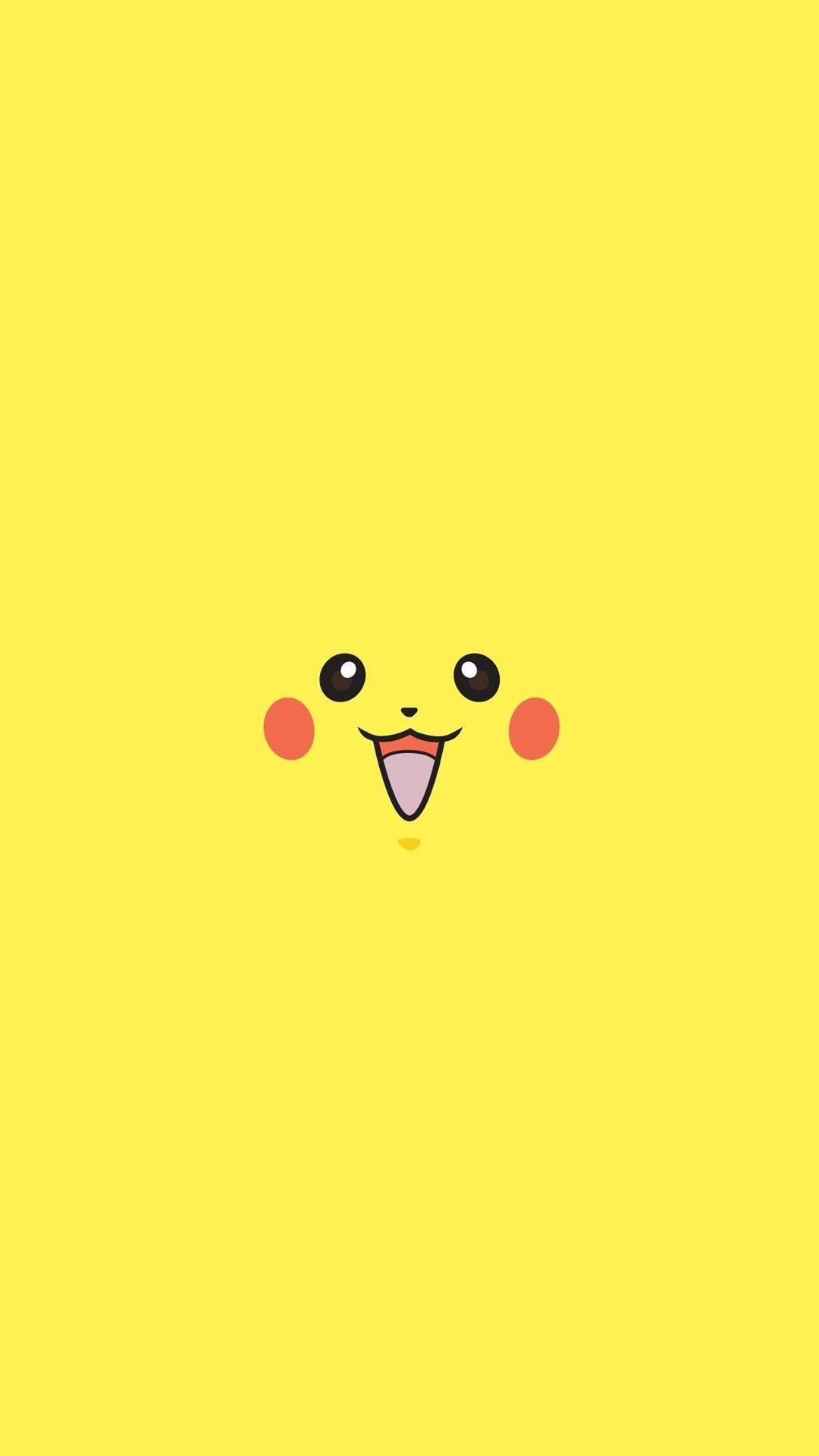 Pikachu Pokemon Minimal Flat iPhone 6+ HD Wallpaper HD – Free …