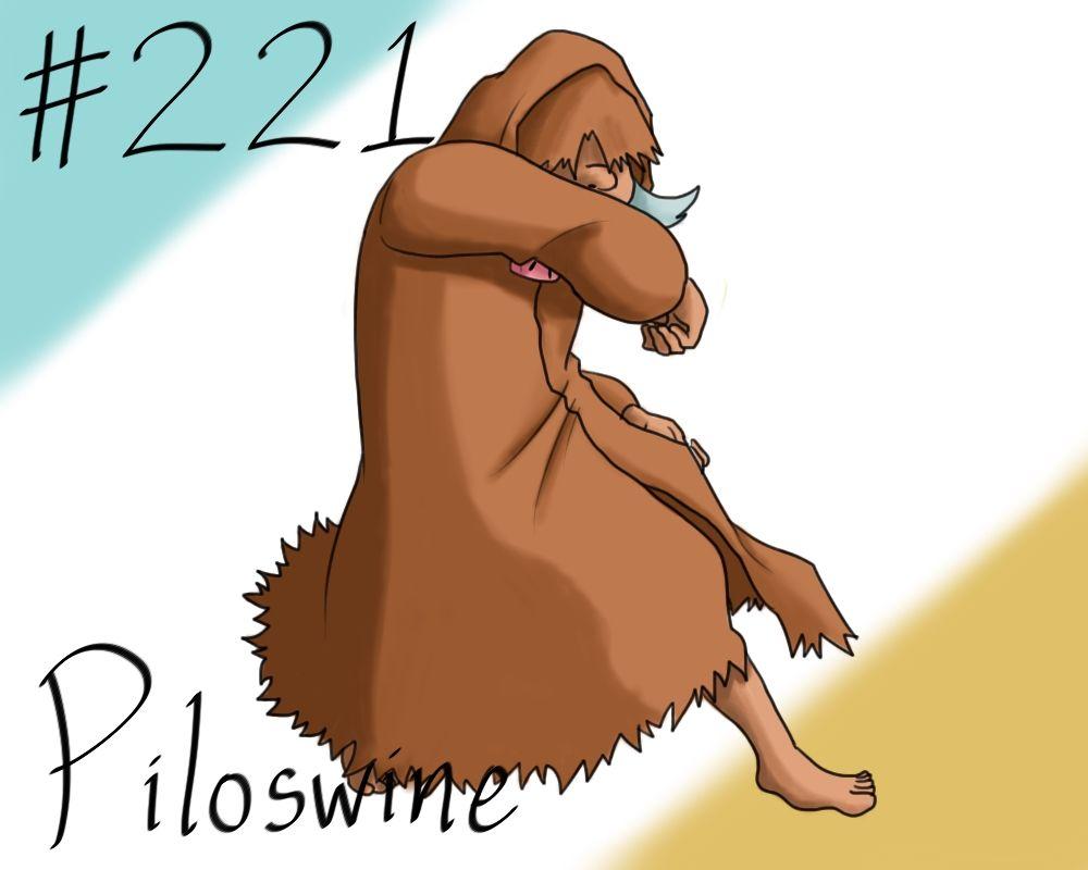 Pokemon Gijinka Project 221 Piloswine by JinchuurikiHunter on DeviantArt