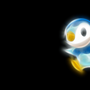 download Pokemon, black background, Piplup – Free Wallpaper / WallpaperJam.com