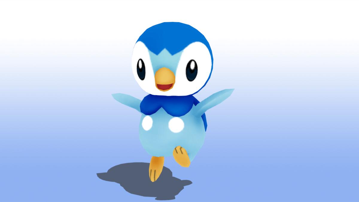 MMD Pokemon Piplup Model DL by MMDSatoshi on DeviantArt
