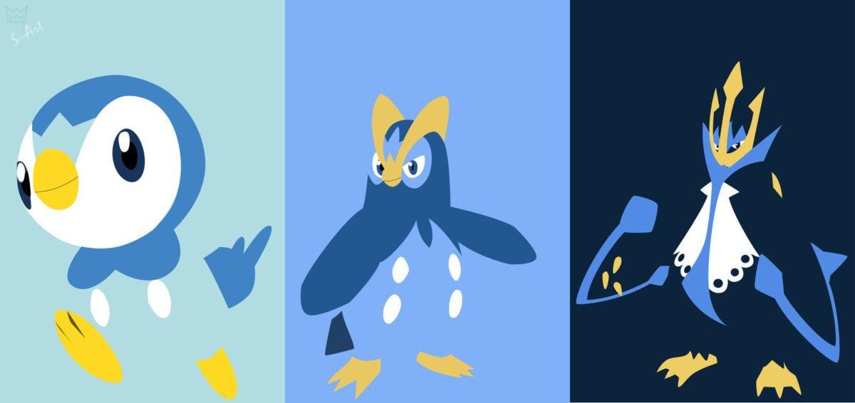 Piplup evolution line by S–Art on DeviantArt
