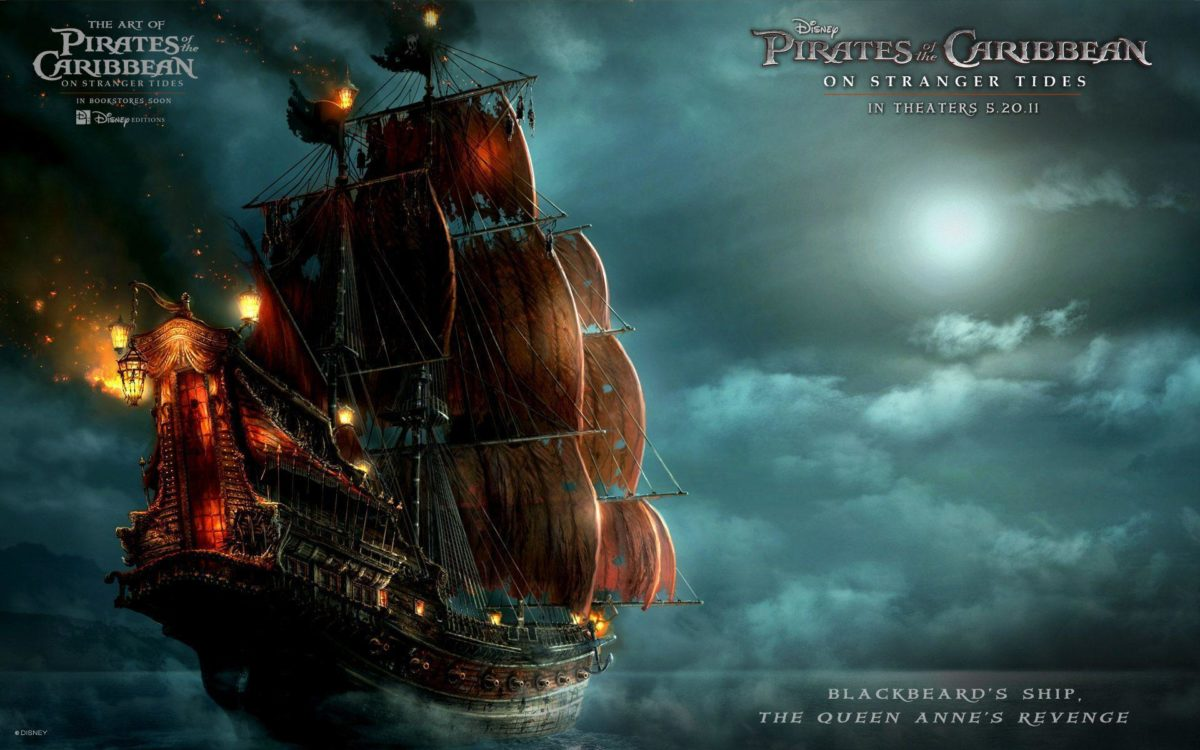 Blackbeard's Ship in Pirates Of The Caribbean 4 Wallpapers | HD …